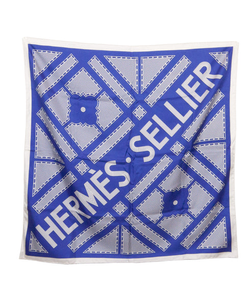 Sellier Silk Scarf