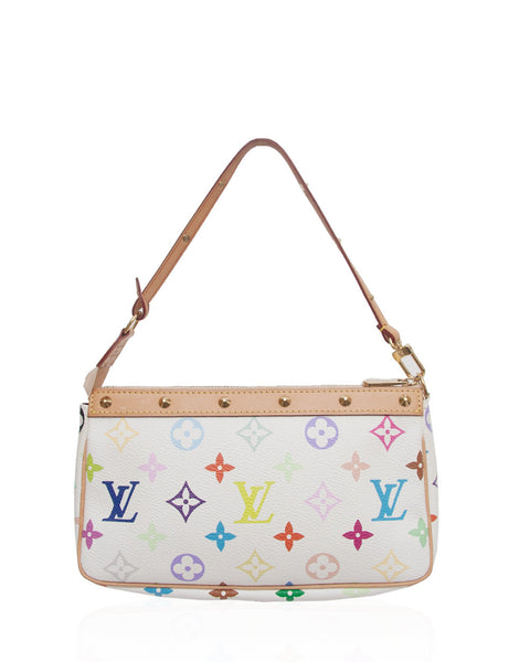 Multicolor Pochette Bag