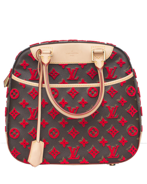 Louis Vuitton Tuffetage Deauville Cube Bag
