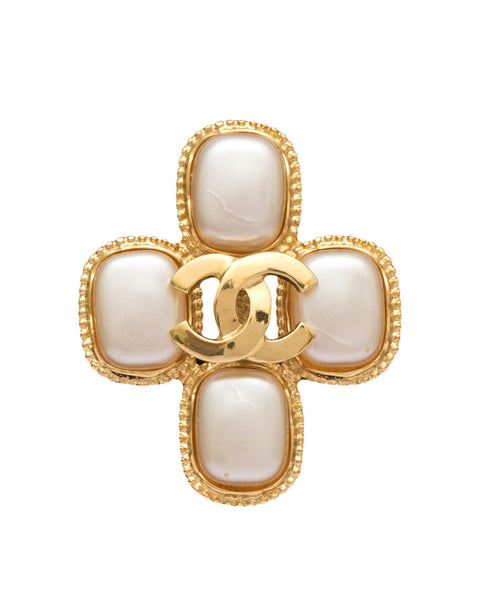 Vintage Cross Brooch