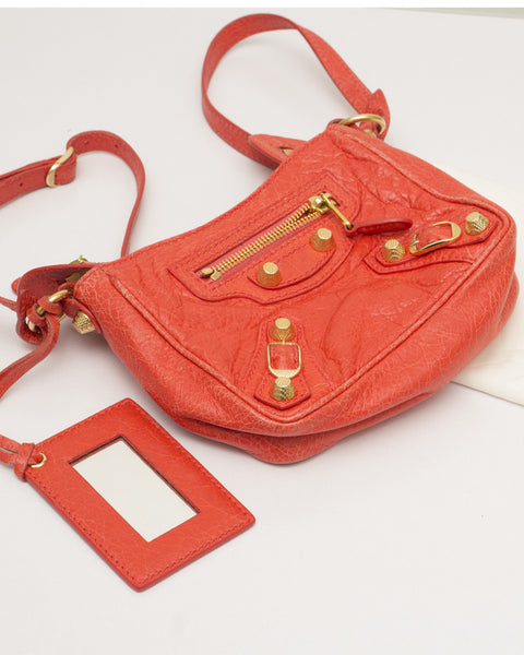 Red Hip Cross Body Bag