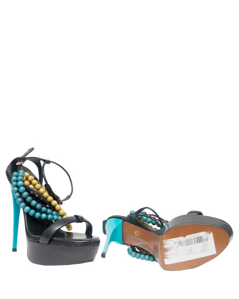 Burberry Prorsum Harewood Beaded Sandals