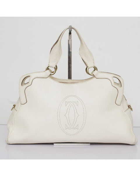 White Marcello De Cartier Bag
