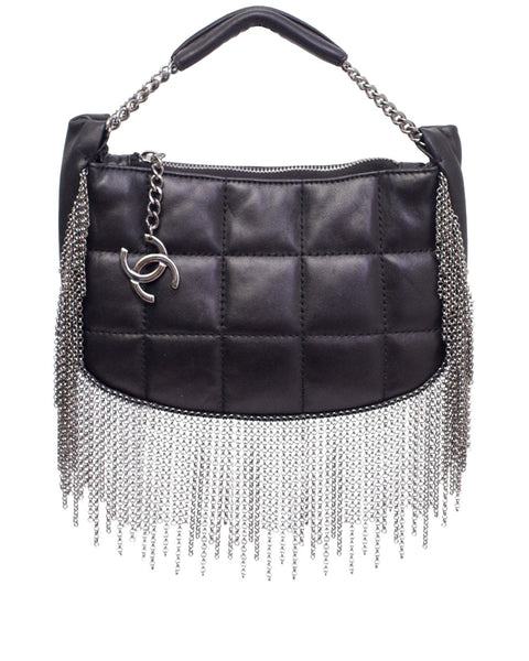 Vintage Metal Tassel Evening Bag