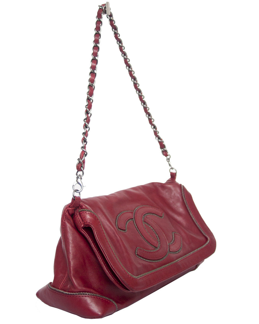 Chanel Fold Over Bag