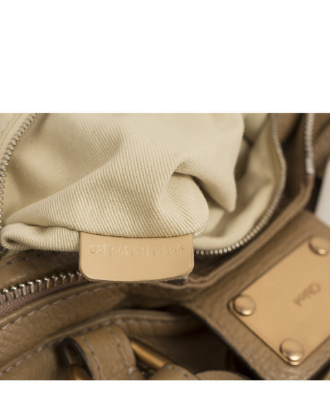 Beige Paddington Bag