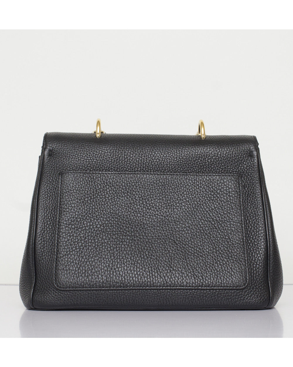 Black Be Dior Flap Bag