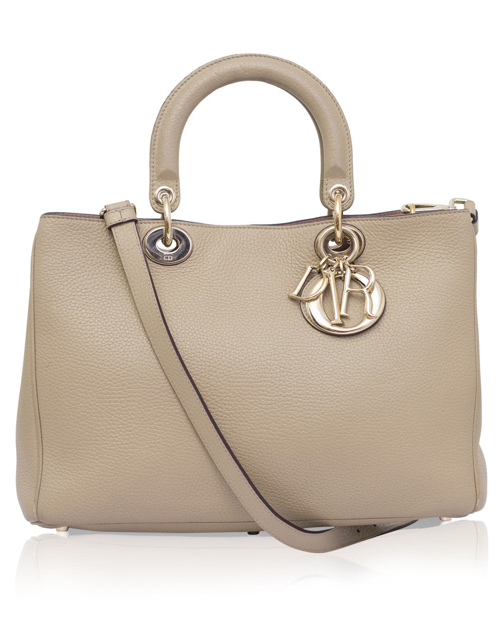 Beige Diorissimo Medium Tote Bag