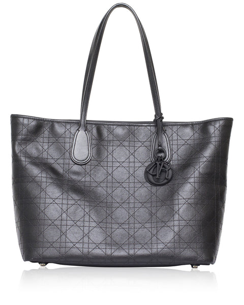 Black Medium Panarea Tote Bag