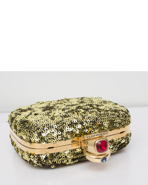 Sequin Miss Pixie Clutch