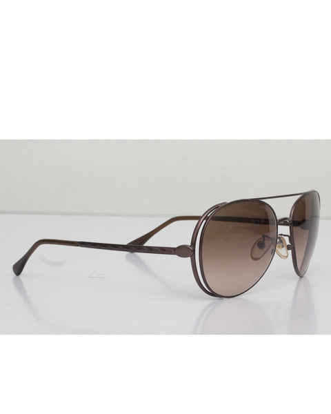 Metal Frame Aviator Sunglasses