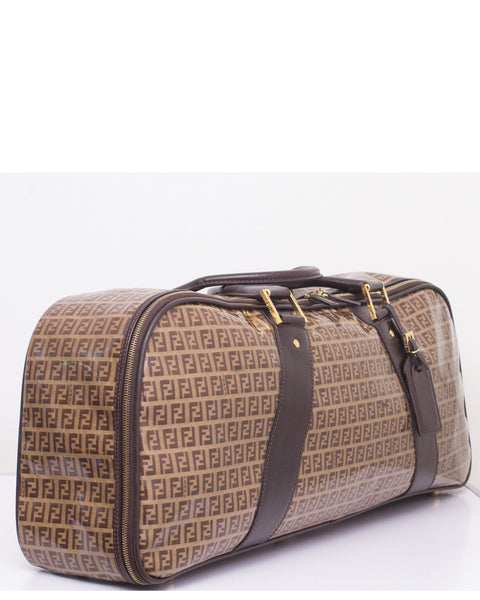 Brown Zucchino Travel Bag