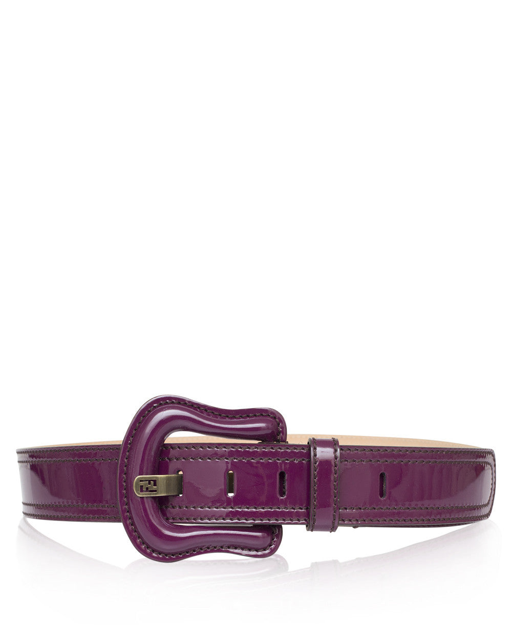 Purple Patent B Belt