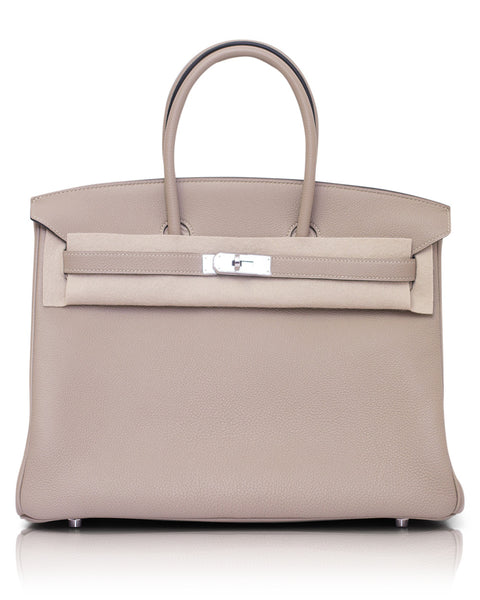Gris Tourterelle Birkin Bag