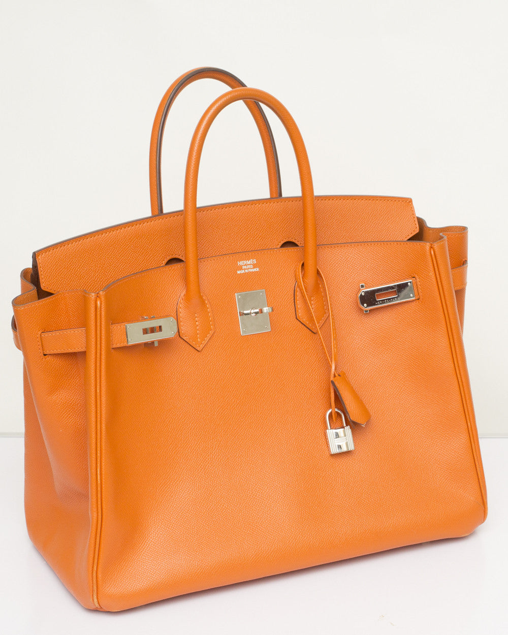 Orange Epsom Birkin Bag