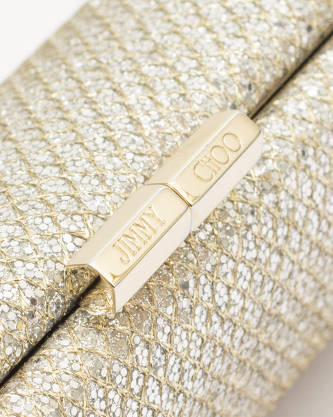 Gold Charm Clutch Bag