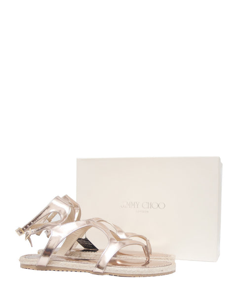 Jimmy Choo Mirror Sandals