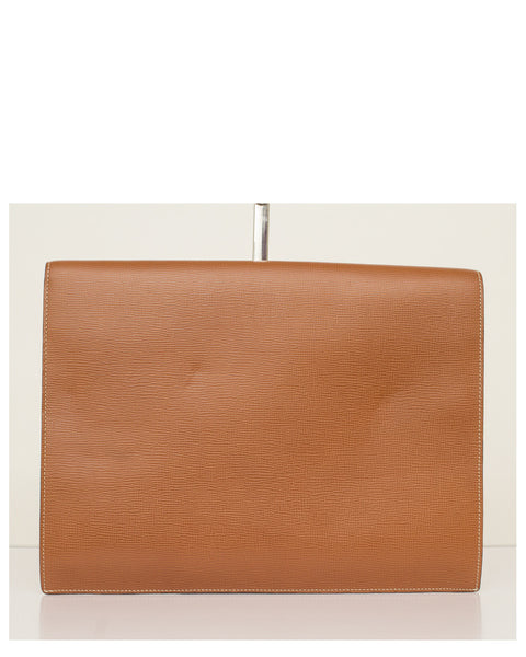 Tan Document Case