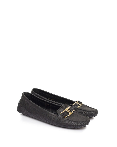 Black Oxford Loafers
