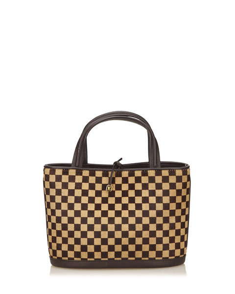 Brown Damier Sauvage Impala Bag