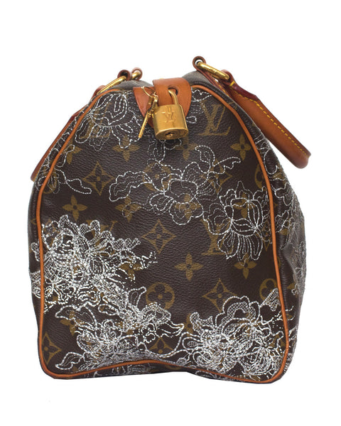 Louis Vuitton Dentelle Speedy 30 Bag