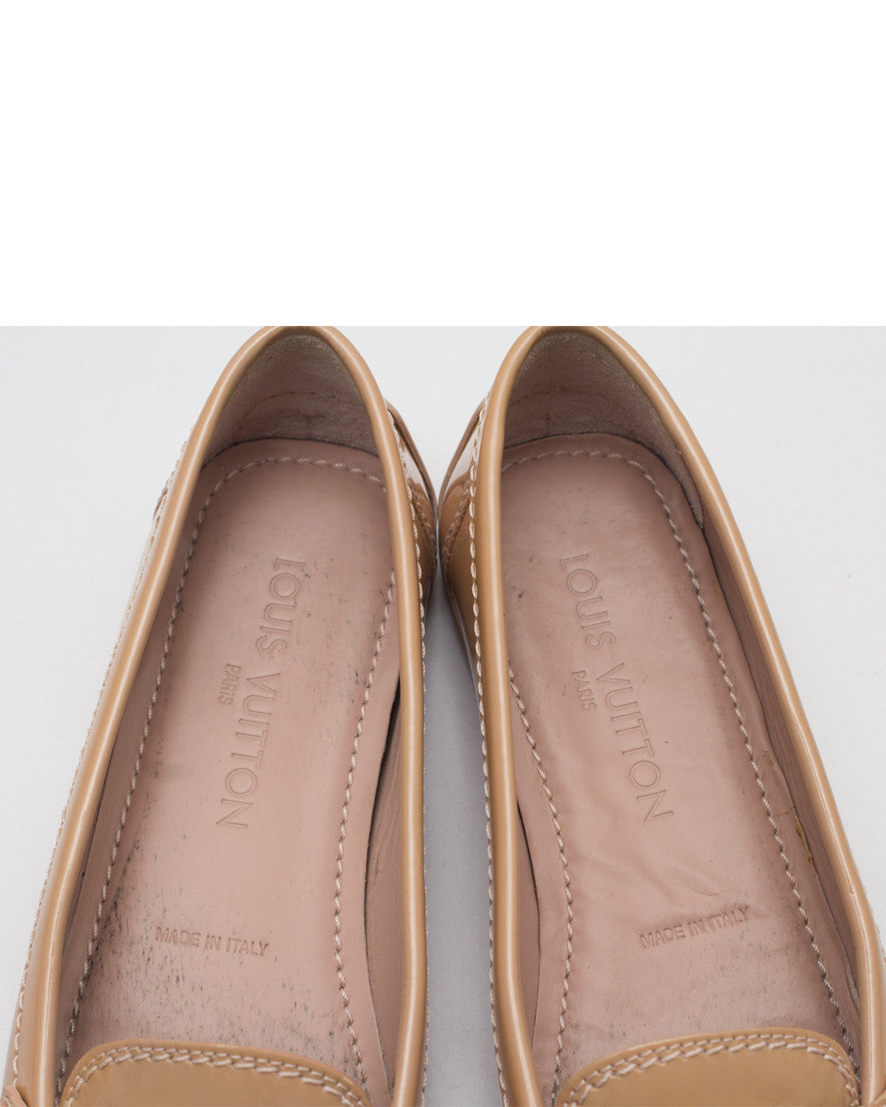 Salmon Oxford Loafers