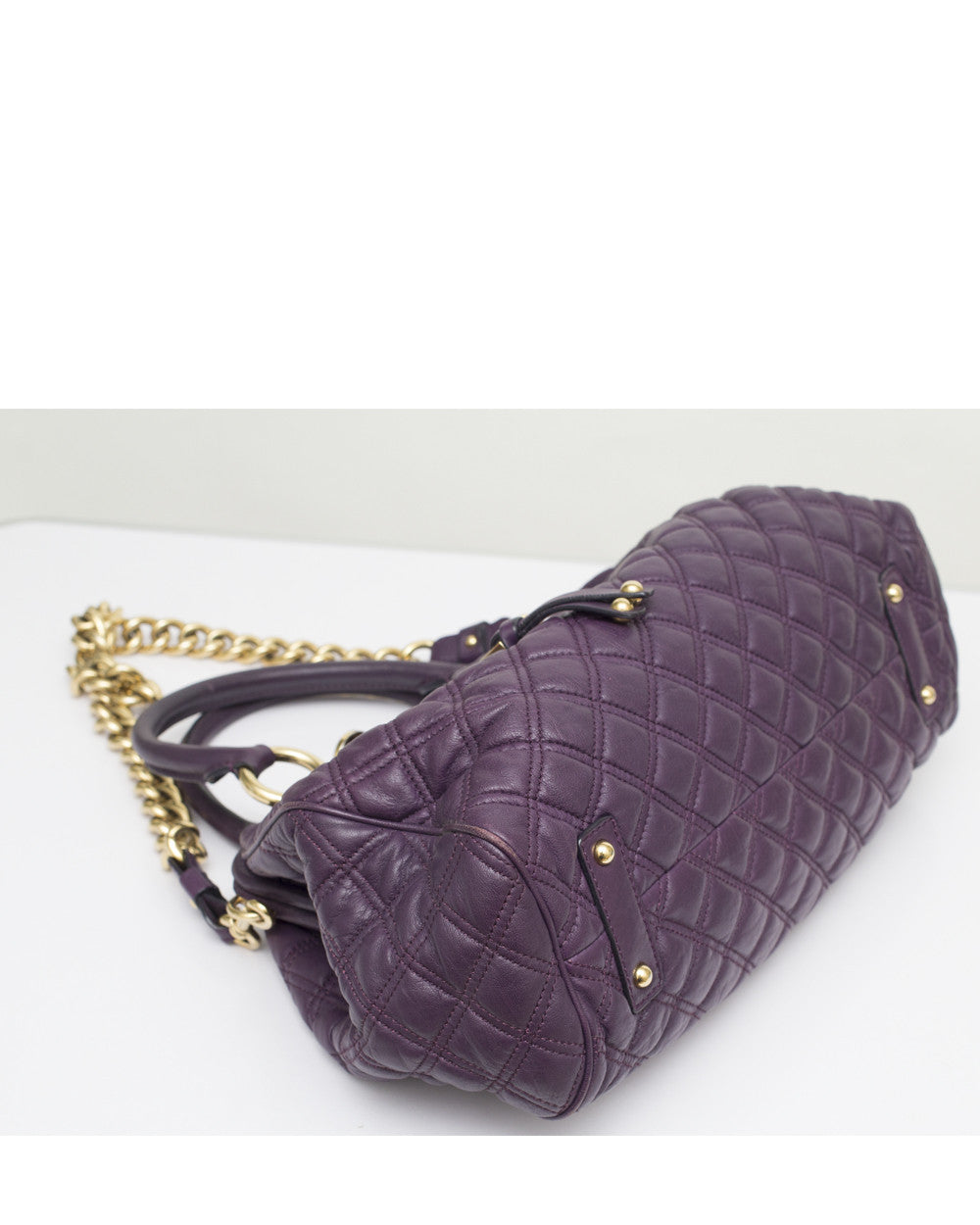 Purple Stam Bag