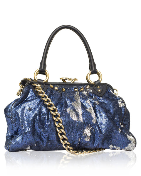 Sequin NY Rocker Stam Bag