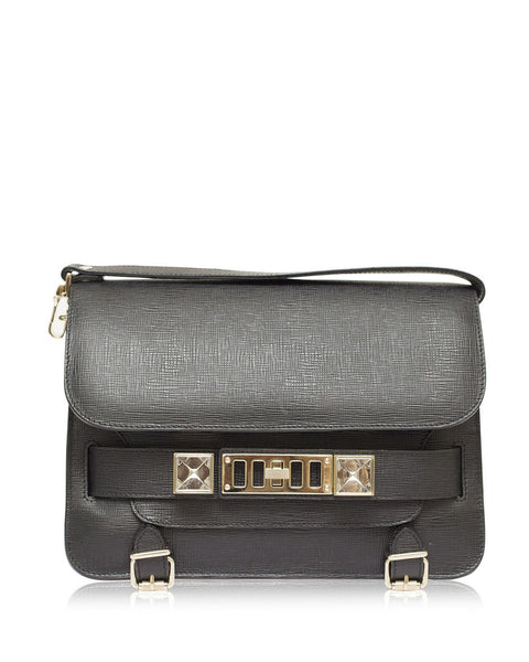 Black Classic PS11 Linosa Cross-Body Bag
