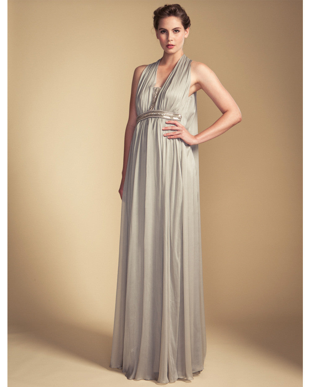 Temperley Laurel Halter Gown
