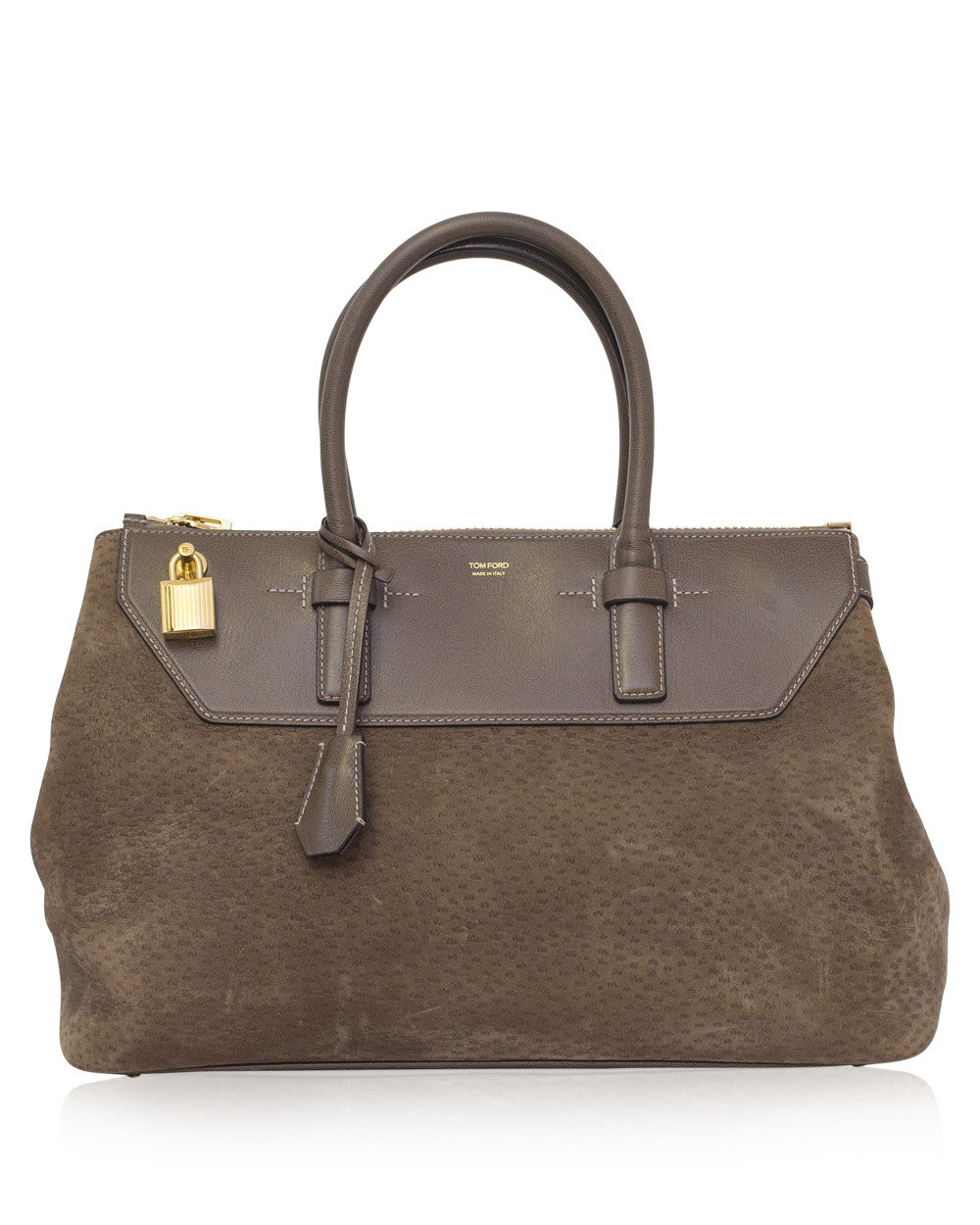 Brown Suede Petra Bag