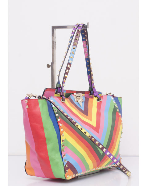 Rockstud Medium Tote Bag