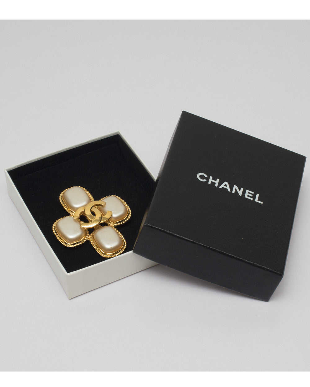 Vintage Chanel Cross Brooch