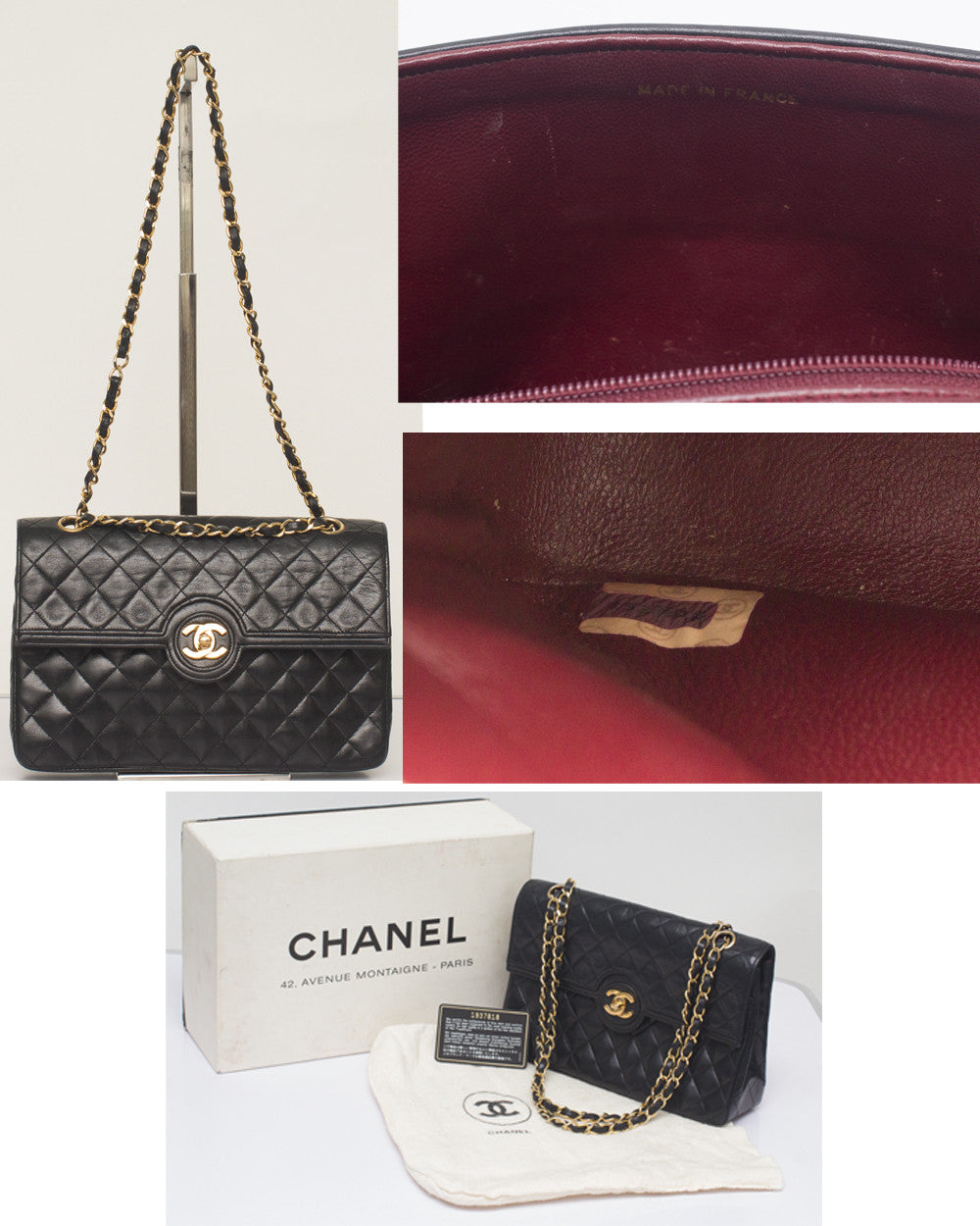 Vintage Chanel Classic Flap Bag