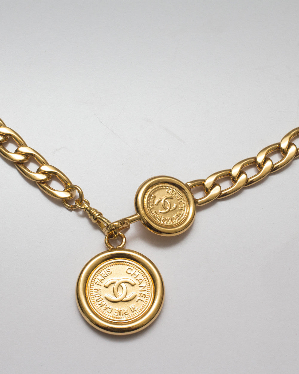 Vintage Chanel Chain Belt