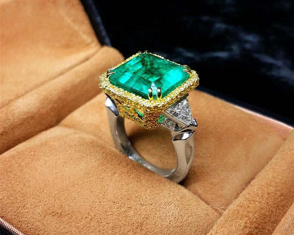 CJ Charles creates custom ring for Spark Gala