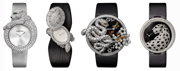 Cartier High Jewelry Watches
