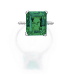 7.62ct Emerald with AGL Report