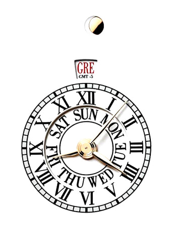 Grand Oeuvre 12-Hour World Time Indication Complication