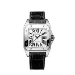 Cartier Santos 100 watch, medium model W20106X8