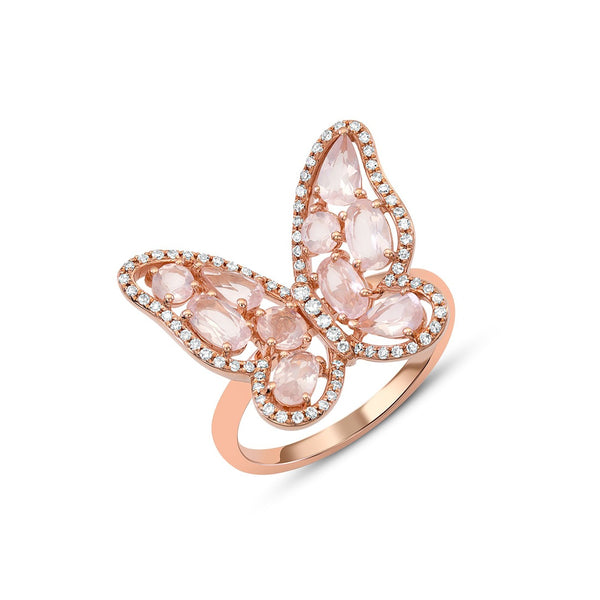 18kt_Rose_Quartz_Diamond_Butterfly_Ring