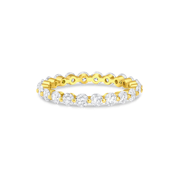 18kt Yellow Gold 1.63ctw Diamond Eternity Band