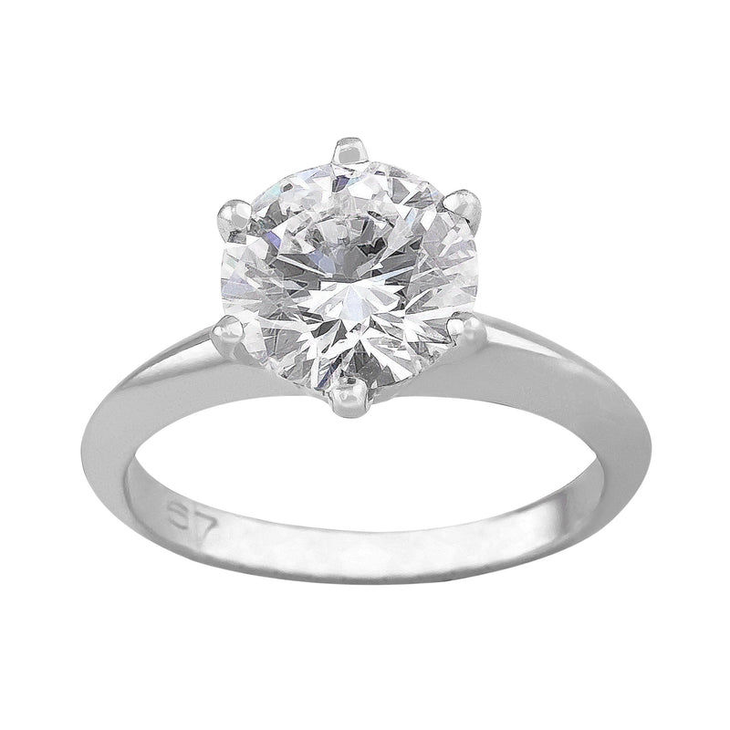 1.67ct Tiffany Setting Estate Platinum Diamond Ring