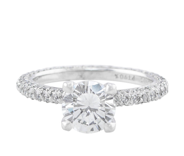 1.18ct GIA-certified VS1 Diamond Ring