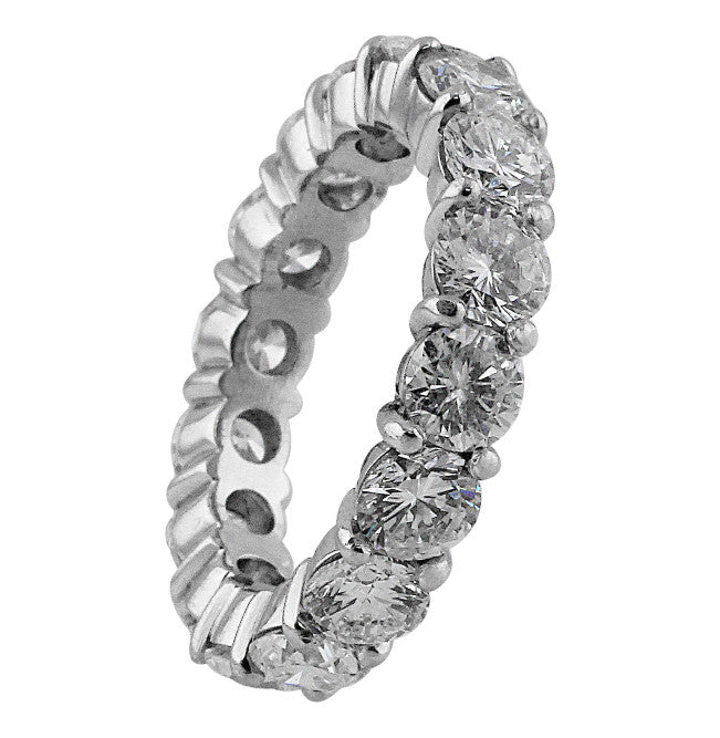 5ct Diamond and Platinum Eternity Band
