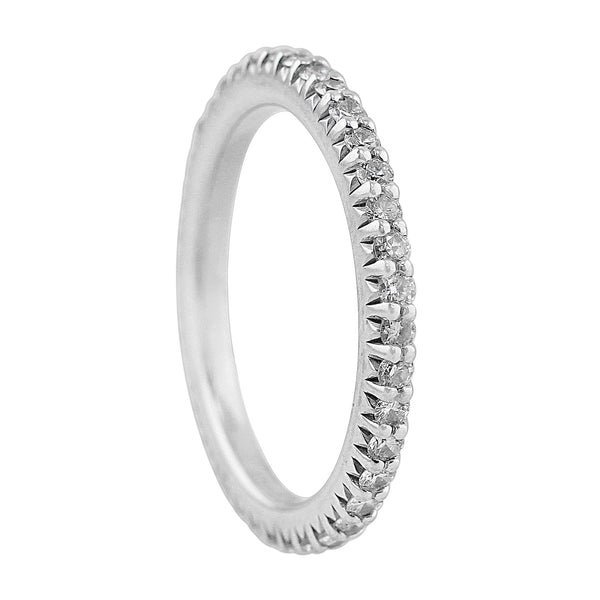 Royal White Gold Diamond Band, Ritani
