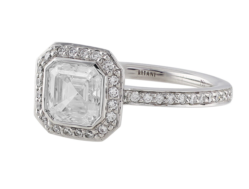 Ritani Endless Love 1ct Diamond Solitaire Ring