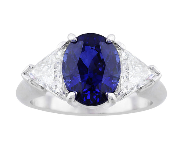 4ct Sapphire Ring