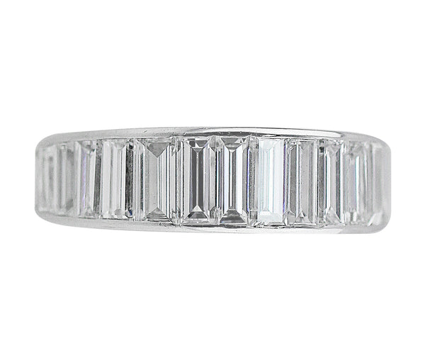 Estate Baguette Cut Diamond Eternity Ring