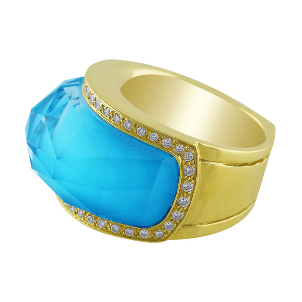 Stephen Webster Turquoise Diamond Band